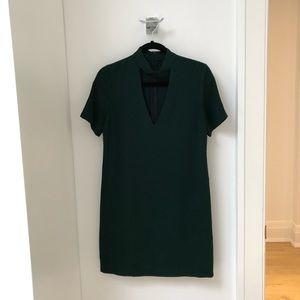 Zara Woman Dress. Emerald. Size XS.